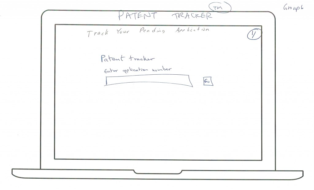 Patent Tracker First Page